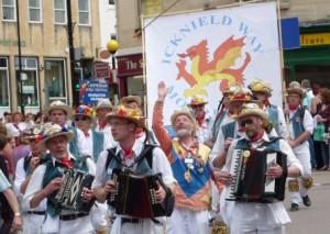 Icknield Way Morris Men processional