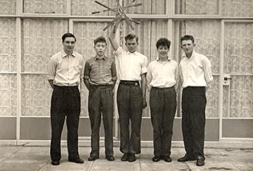 Icknield Rapper Sword Team - 1959