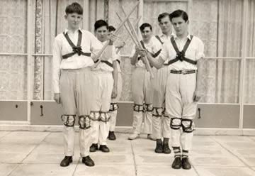 Icknield Morris Team - 1958
