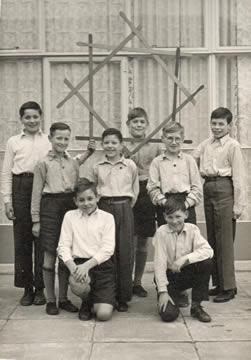 Old Photo of Flamborough Sword Team 1959