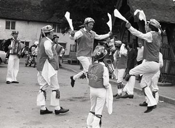 Old Photo of Flamborough Sword Team