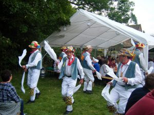 Icknield Way Morris Men, dancers in the Vale of White Horse